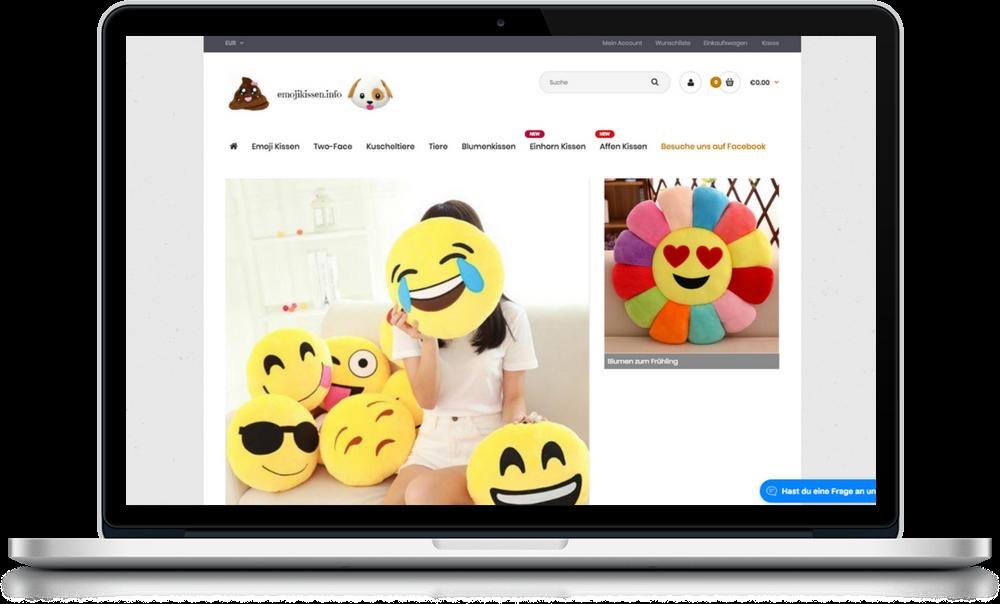 Emoji Kissen online kaufen