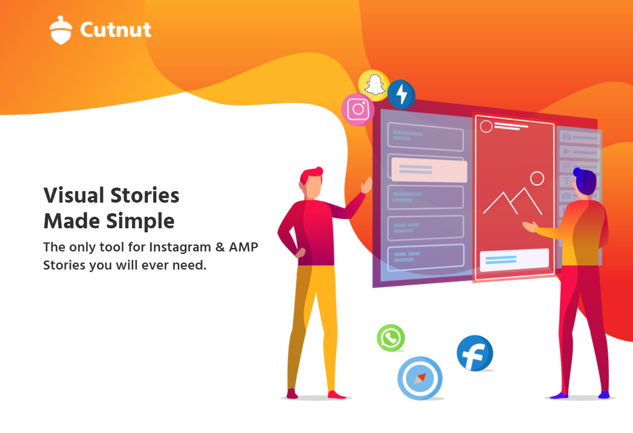 Cut Nut - Visual Stories Made Simple