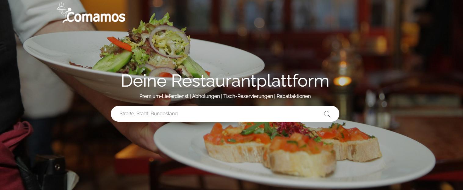 Comamos - Deine Restaurantplattform